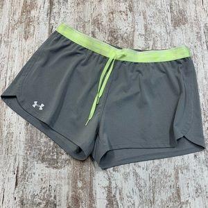 Under Armour heat gear gray shorts
